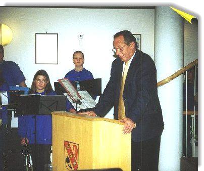 Rede Bürgermeister Krzizok am 30.11.2000
