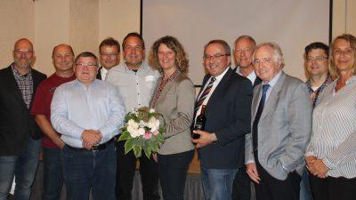 September 2018: Neuwahlen des Vorstands des Gewerbevereins Finsing