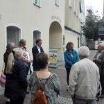 Gewerbeverband Finsing bei Stadtführung durch Erding